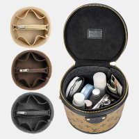 适用Lvcannes圆筒包内胆包内衬水桶分隔整理收纳饭桶内袋包中包
