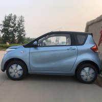 新款雷丁COCO两门四座电动汽车成人新能源油电两用代步车包邮