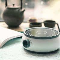 布塔智能迷你小白炉小火锅家用电磁炉单人小型宿舍用学生烧水煮茶