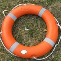 2020新款。船用救生圈游泳救生圈实心加厚成人儿童救生圈救生设备