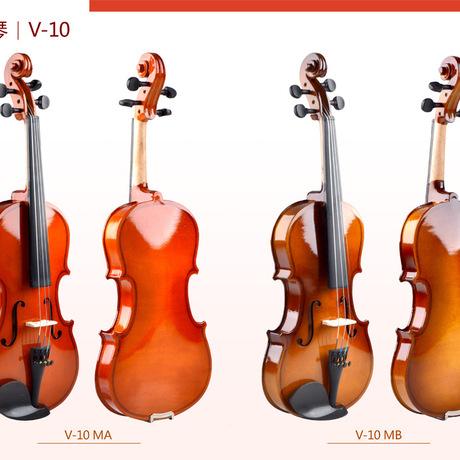 小提琴V-104/43/4普及琴枫木面板厂家直销正品初学者使用