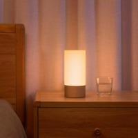 适用小米米家床头灯护眼卧室宿舍书桌简约创意智能联动金色夜灯