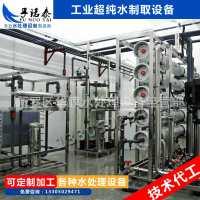 定制EDI超纯水设备医药电子行业双级反渗透加EDI纯化水制取设备