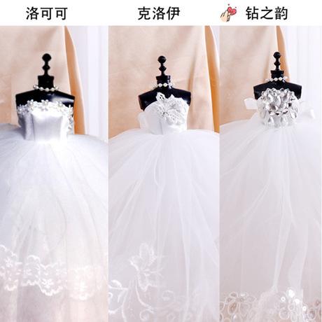 七夕情人节生日礼物女生实用送女友创意闺蜜精致特别朋友婚纱模型