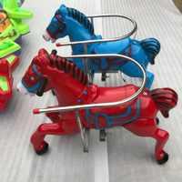 2020最新款儿童旋转木马户外儿童公园小区卡通游乐设备源头工厂