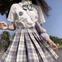 初夏正统JK制服全套樱桃多多水手服套装jk摘星楼学院风儿童制服女