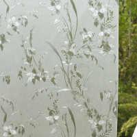 45/60/90/120cm宽静电贴膜免胶磨砂玻璃贴纸窗户卫生间不透明
