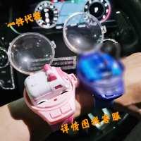 遥控手表抖音同款网红玩具电动儿童迷你赛车男孩遥控车手表地摊货