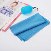 户外运动旅行速干毛巾创意礼品便携式超细纤维速干毛巾运动健身