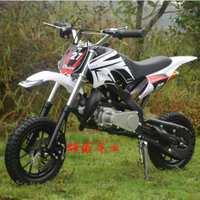 两冲四冲越野摩托车小型摩托车迷你摩托山地车49cc汽油沙滩小跑车