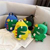 儿童书包新款卡通恐龙小书包男童背包女孩宝宝1-3-6岁幼儿园书包
