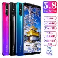 新款现货智能手机X27Plus大屏5.8寸联通3G现货低价批发跨境手机