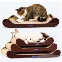 包邮大号瓦楞纸猫抓板猫窝猫盆猫爪板猫玩具猫爬架猫沙发批发薄荷