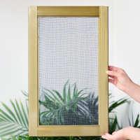 小金刚不锈钢网纱窗平移定制铝合金纱窗防蚊防鼠推拉塑钢通用门式
