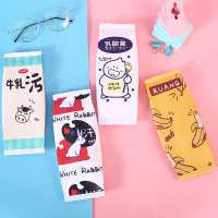 袋清新初中男女学生零食可爱铅笔定制文具盒小笔袋简约大容量韩国