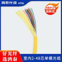 96芯室内单模光缆单模光纤束状光缆HTGLGJFJVGJBFJZY-96B1单模