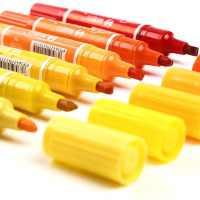 大双头油性记号笔24色30色儿童马克笔彩色记号笔POP马克笔