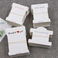 CHINA 印刷 头饰品纸卡韩版卡纸