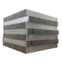 方立柱波形护栏板配件圆形立柱镀锌喷塑防撞立柱批发