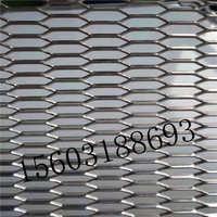 铝合金冲孔板冲孔网穿孔板拉伸网铝丝拉板网吊顶铝板拉丝装饰网