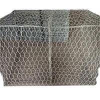 厂家直销金属丝网格宾石笼网护坡石笼网电焊石笼网