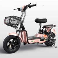 新款时尚电动电瓶车48V电动自行车锂电代步雅迪新日小鸟小刀同款