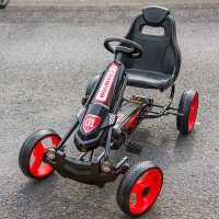 高档儿童电动车四轮脚踏卡丁车宝宝遥控玩具汽车两用混合动力自行