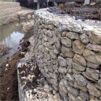 厂家直销生态景观电焊石笼网堤坡防护雷诺护垫铅丝石笼可定制