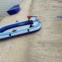 电动手持推进器船用马达挂机舷外机钓鱼船橡皮艇充气船电动推进器