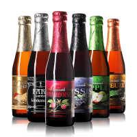 比利时啤酒林德曼果味精酿啤酒桃子苹果法柔樱桃草莓山莓樱桃混酿