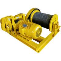 JM型电控慢速卷扬机1t矿用提升机/睿源出品/卷曲100米/起重工厂用