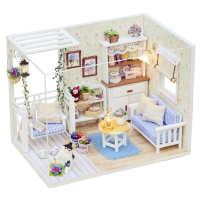 diy小屋小猫日记手工房子小型儿童建筑模型玩具生日礼物男女朋友