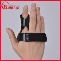 手指固定套指关节骨折固定带手指矫正固定带铝板手指矫正固定夹板
