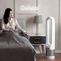 一件代发Gefante无叶空气净化电风扇家用超静音对流循环塔扇台立