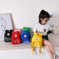 夏季卡通幼儿园书包1-3岁5可爱儿童包包男宝宝小背包女孩双肩包潮