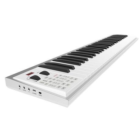 88键移动手卷钢琴便携式力度键盘随身折叠成人电子琴电钢琴