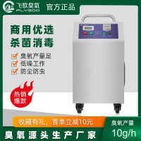 10G现货臭氧发生器养殖场食品厂杀菌移动式臭氧消毒机广州厂家