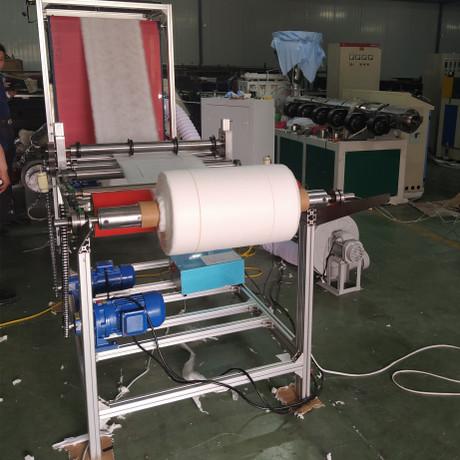 厂家全自动熔喷布无纺布切条机现货收卷分切机熔喷布分切复卷机