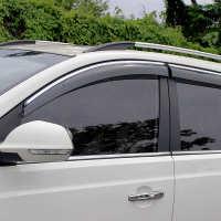 小白2019款车型改装晴雨挡配件装饰防雨条车窗雨眉18款窗户挡雨板