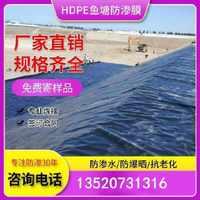 hdpe土工膜沼气池黑膜污水池垃圾填埋场尾矿库高密度聚乙烯膜厂家