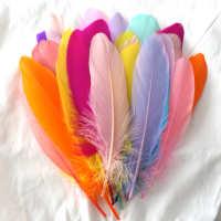 彩色diy捕梦网飘们材料根硬50波波继承者球羽毛鹅毛包填充物