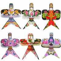 正宗潍坊沙燕风筝传统DIY舞蹈成人儿童风筝手工微风易飞装饰