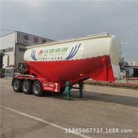 混凝土外加剂运输半挂车高密度粉粒物料运输半挂车散装水泥罐车