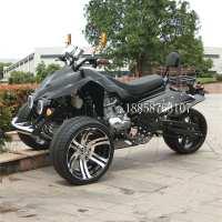 倒三轮沙滩车四轮越野摩托车轴传动125-250cc山地车成人汽油电动