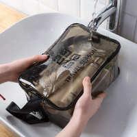 女包画妆包卸妆水包包旅游便携品包随身洗漱收纳袋袋半透明洋气包