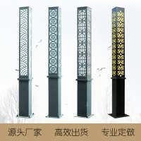 源头厂家直供户外2米3米led太阳能景观灯公园小区防水艺术造型灯