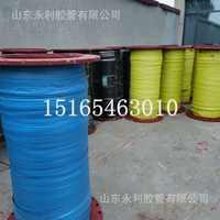 大口径法兰钢丝缠绕橡胶管高压吸水吸沙吸引管抽砂抽水排水橡胶管