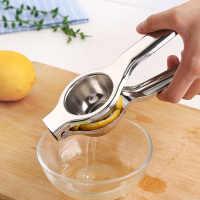 不锈钢柠檬夹榨汁器橙子手动榨汁机家用压汁机迷你水果鲜榨衫俏