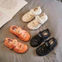 2020夏季新款运动鞋轻巧硅胶软底耐磨透气凉鞋魔术贴童鞋