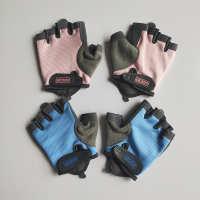 健身手套男女防滑护腕半指哑铃器械训练单车骑行攀岩
